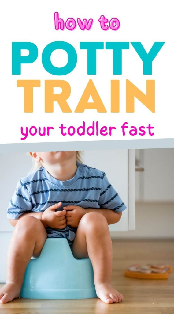 how to potty train your toddler fast. The best potty training tips and potty training hacks for moms. The best tips for potty training a toddler. How to potty train before 2. The best potty training hacks for moms.
